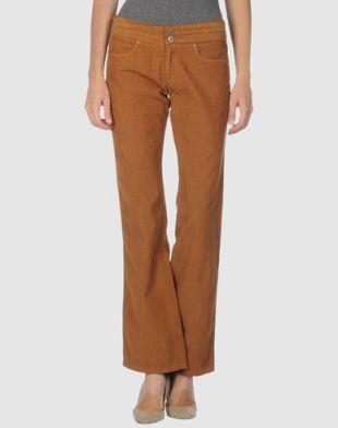 pantaloni a costine in velluto
