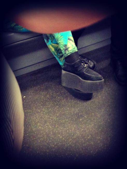scarpe creeper, scarpe doppia suola, milano street style, milan street style, italia street style, italy street style