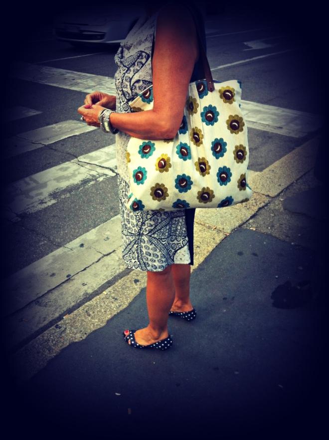 milan street style, milano street style, borsa di stoffa