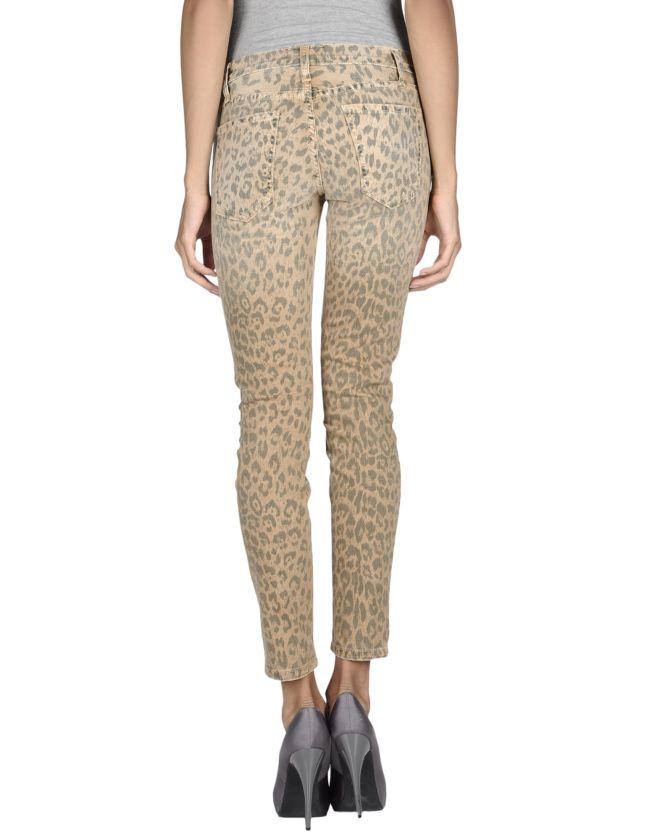 CURRENT/ELLIOTT Pantaloni jeans, yoox, pantaloni leopardati, pantaloni maculati, jeans leopardati, jeans maculati, fashion blogger, street style