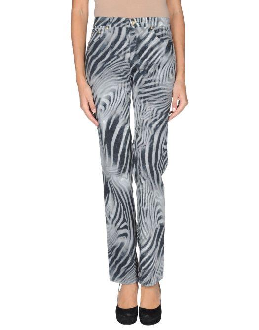 pantaloni trussardi jeans, tj, pantaloni zebrati, jeans zebrati, yoox