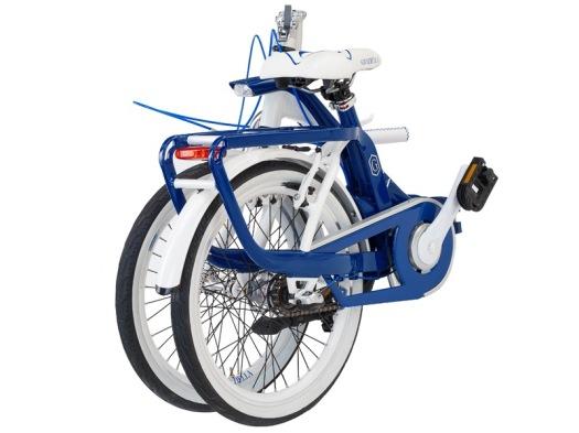 bici pieghevole, bicicletta pieghevolegraziella, graziella salvador, graziella blu e bianca, bottecchia cicli, bici pieghevoli online, shopping online, biciclette pieghevoli, bicilette vintage, bici vintage, bicicletta vintage
