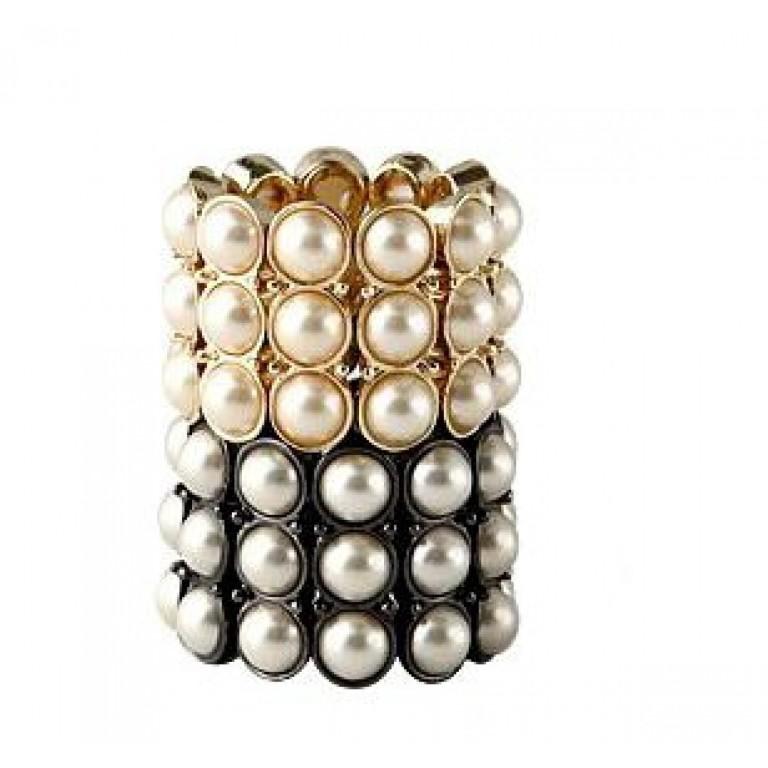 abbigliamento giapponese, cosplay, shopping online, abbigliamento asiatico, asian style, japan style, vivi clothes, viviclothes, anello bianco e nero, anello di perle