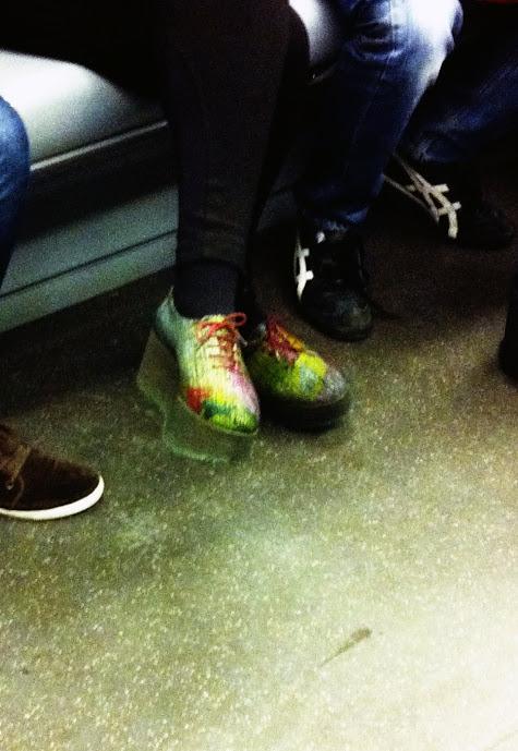 scarpe suola doppia, suola tripla, scarpe suola di gomma, stringate tripla suola, creepers, milano street style