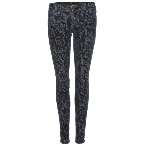 skinny jeans black brocad, jbrand, mytheresa, jeans broccati, jeans damascati, pantaloni broccati, pantaloni damascati, fashion blog, fashion blogger