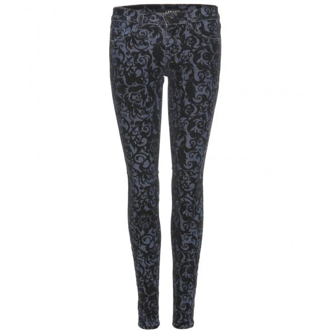 skinny jeans black brocad, jbrand, mytheresa, jeans broccati, jeans damascati, pantaloni broccati, pantaloni damascati, fashion blog, fashion blogger