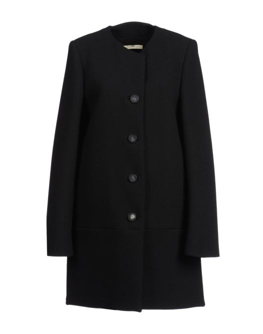 cappotto nero, cappotto in panno, cappotto senza colletto, cappotto senza tasche, cappotto balenciaga, balenciaga, giacca balenciaga, fashion blog, fashion blogger, yoox