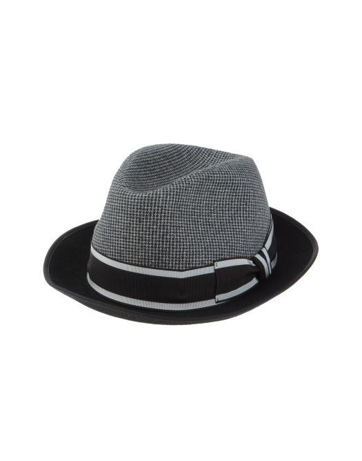 cappello modello borsalino, cappello borsalino, cappello dolce&gabbana, yoox, callo dg, cappello d&g, cappello nero e grigio, cappello da uomo nero, cappello da uomo grigio