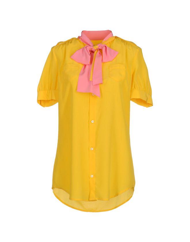 DSQUARED2, camicia gialla, camicia gialla e rosa, camicia maniche corte, yoox, Hervé Van der Straeten Hammered, bracciale alla schiava, bracciale oro, marc jacobs, tracolla rosa, borsa rosa e oro, smalti essie online, acquistare smalti essi, smalto pink, essie pink, smalto rosa, smalto essi rosa, net a porter, CHARLOTTE OLYMPIA, pumps gialle con rosa, platform gialle, giallo senape, ROCHAS, pantaloni pois, pantaloni optical, pantaloni bianco e nero, www.net-a-porter.com