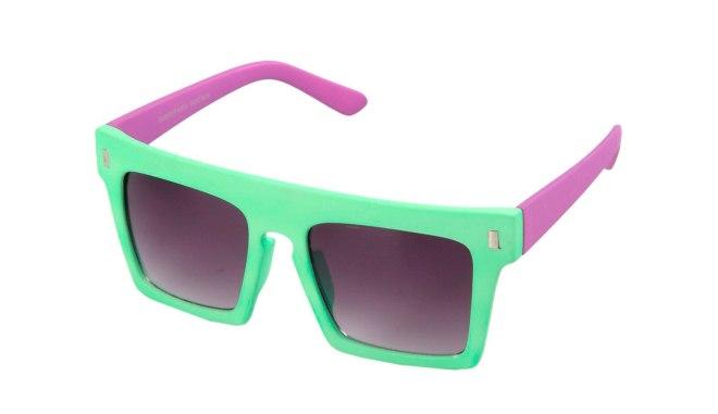 QUAY EYEWARE, Occhiali da sole, occhiali da sole fluo, occhiali da sole verde chiaro, occhiali da sole verde fluo, occhiali da sole verdi e viola, occhiali da solo due colori, occhiali da sole verde e viola,  occhiali da sole in plastica,  occhiali da sole quadarti,  occhiali da sole con lenti quadrate, occhiali con lenti quadrate, occhiali fluo, yoox, fashion blog, fashion blogger