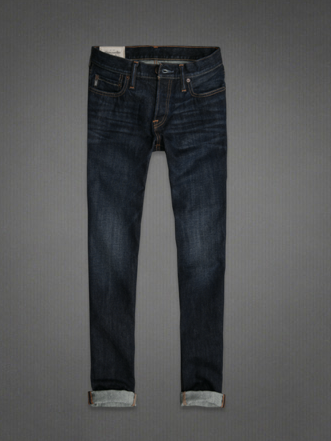 A&F SKINNY JEANS, abercrombie, jeans abercrombie, jeans skinny con risvolto, jens uomo abercrombie, jeans lavaggio scuro, jeans skinny uomo abercrombie, abrcrombie online, abercrombie store online, abercrombie shop online, abercrombie shopping online
