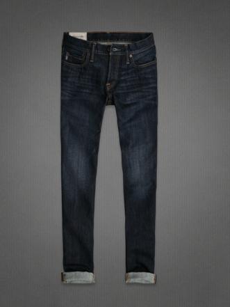 A&F SKINNY JEANS, abercrombie, jeans abercrombie, jeans skinny con risvolto, jens uomo abercrombie, jeans lavaggio scuro, jeans skinny uomo abercrombie, abrcrombie online, abercrombie store online, abercrombie shop online, abercrombie shopping online