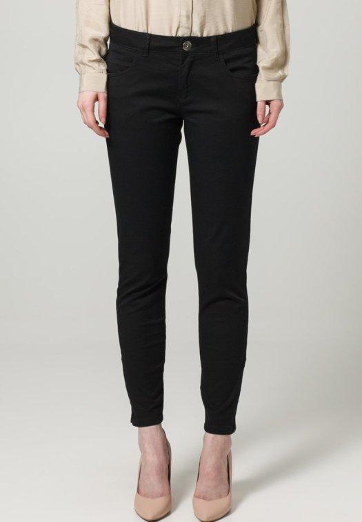 Sisley Pantaloni, nero, pantaloni slim, pantaloni taglio jeans, pantaloni skinny, sisley, zalando, fashion blog, fashion blogger