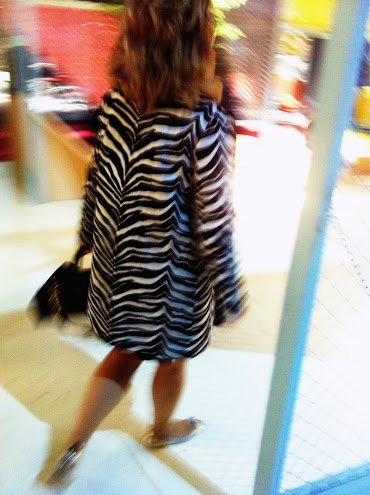 soprabito zebrato, milan street style