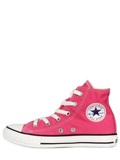converse, sneakers alte, all star, tela cotone, luisaviaroma.com