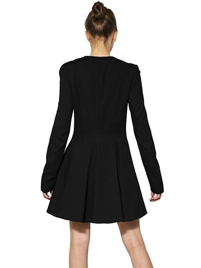 gareth pugh, cappotto abito crepe lana, luisaviaroma, fashion blogger