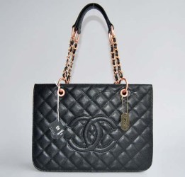 Chanel Bronzo Coco Pelle Spalla Borse