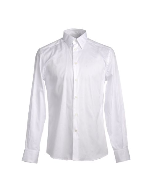 VERSACE COLLECTION, Camicia bianca uomo, yoox