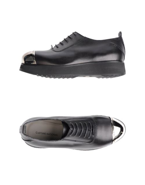 COSTUME NATIONAL Stringate, creepers