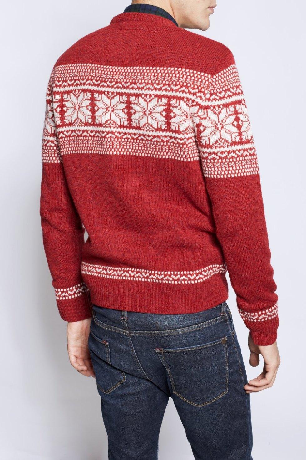 Jack Wills, maglione norvegese, Ashkirk Fairisle Crew