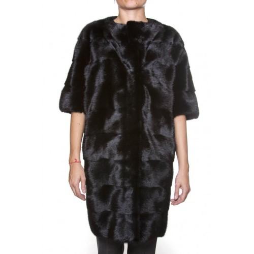 pelliccia visone nero, mavina, dannasalerno, fashion blogger