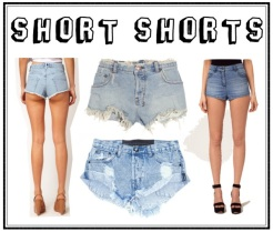 2.Shorts hot